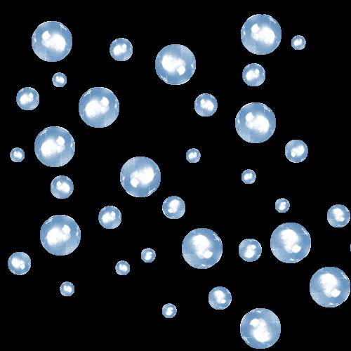 bulle d air sous nappe transparente